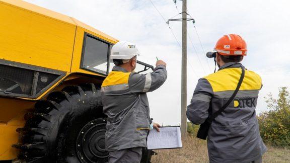 Инновации в обслуживании электролиний: в Киевской области протестировали вездеходы SHERP